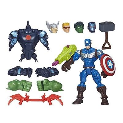 Marvel Avengers Hero Mashers Action Figure Set
