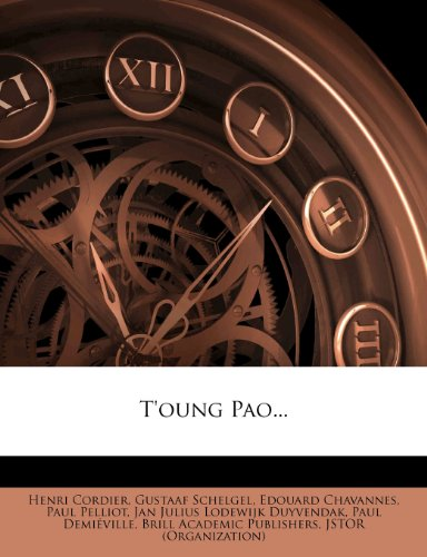 T'oung Pao...
