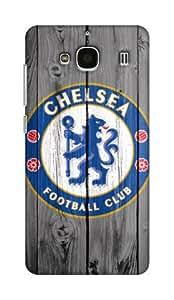 Chelsea Football Club Design - Xiaomi Redmi 2s Mobile Hard Case Back Cover - Printed Designer Cover for Xiaomi Redmi 2s - XRMI2SCFCB16