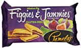 Pamelas Products Figgies & Jammies Cookies, Mission Fig, 9 Ounce (Pack of 6)