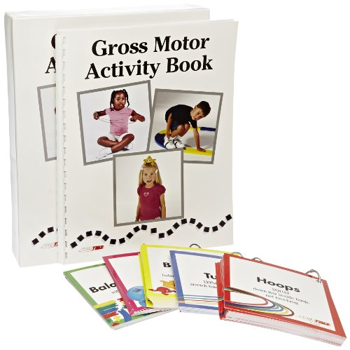 Abilitations Early Childhood Gross Motor Activity Book - 24 Pages front-1007469