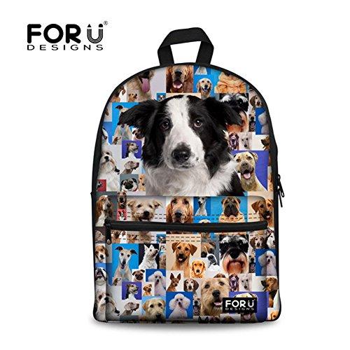 FOR U DESIGNS Back to School Gift for Kids Durable Shoulder Bag School Bags
