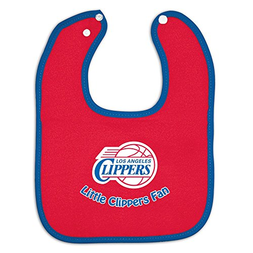 Los Angeles Clippers Official Nba Infant One Size Baby Bib By Mcarthur front-934737