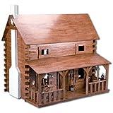 Creekside Cabin Dollhouse