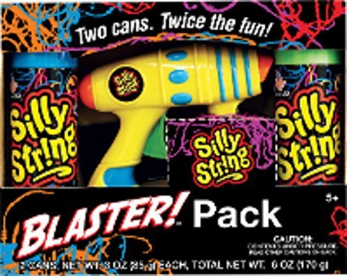 Silly String Blaster Pack (Glow In The Dark Silly Spray compare prices)