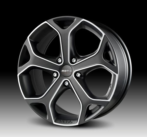 MOMO Car Wheel Rim - Dark Blade - Anthracite - 17 x 7.5 inch - 5 on 114.3 mm - 42 mm offset - Part # DB75751442A