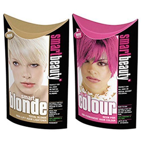neon-pink-semi-permanent-hair-dye-blonde-lightener-smart-beauty