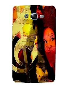 Bagsfull Designer Printed Hard Matte Back Cover Case Samsung Galaxy J5