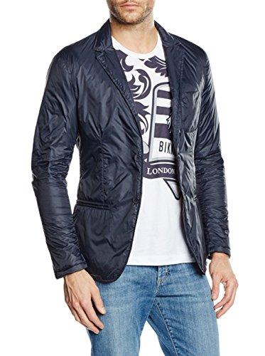 dirk bikkembergs Jacket, Giacca Uomo, Blue Navy 665, 52