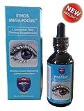Ethos MegaFocusTM 25 Super Nutrients for Optimal Eye Health via Liposomal Delivery Sublingual Dropper Pipette - 60ml Bottle
