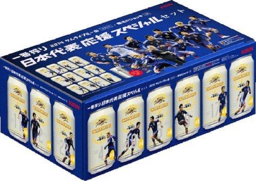 キリン 一番搾り サッカー日本代表応援スペシャルセット 350ml×12本