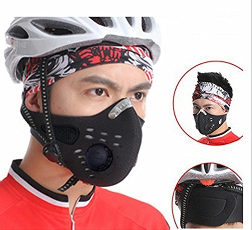 Fit Accessory NEW Outdoor Sports Bike Face Mask Filter Air Pollutant for Bicycle Riding Traveling Mouth-muffle Dustproof