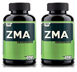 Optimum Nutrition ZMA, Nighttime Recovery Support, 180 Capsules