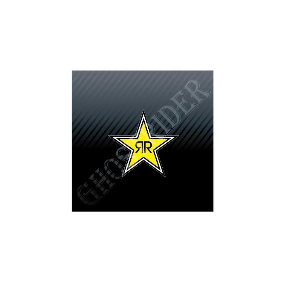 Rock Star Energy Drink Racing 4x4 Off Road Car Trucks Sticker Decal