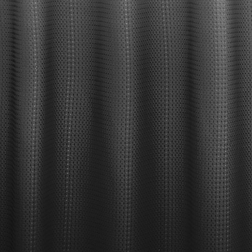 dark grey shower curtain. video Creative Home Ideas Ombre Waffle Weave Shower Curtain with 12