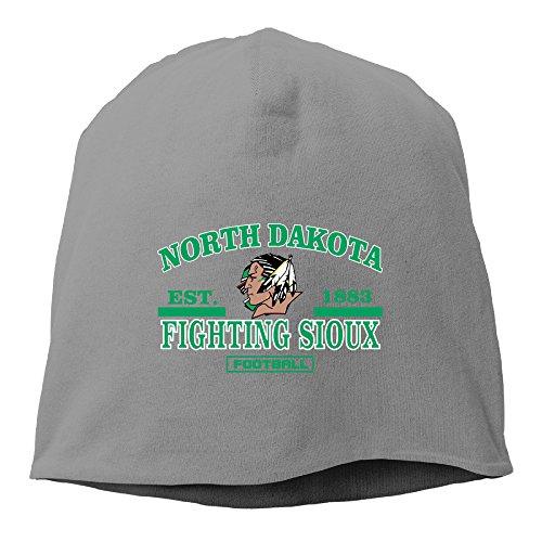 Caryonom Adult University Of North Dakota Beanies Skull Ski Cap Hat DeepHeather (Skully And Green Demon)