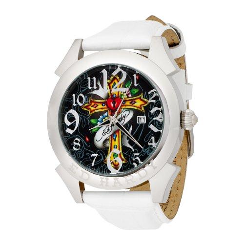 Ed Hardy Mens RE CR Revolution Cross Watch