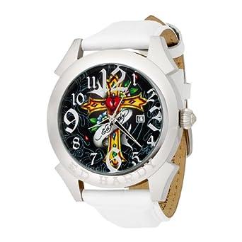 .com: Ed Hardy Men's RE-CR Revolution Cross Watch: Ed Hardy: Watches