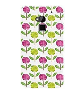 Cotton Plant Clipart 3D Hard Polycarbonate Designer Back Case Cover for HTC One Max :: HTC One Max Dual SIM