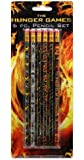 The Hunger Games Movie - Pencil Set 6 pc