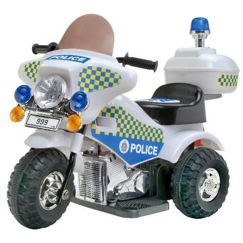 Kids@play Ride-On Police Bike