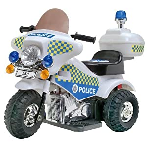 Kids@play Ride-On Police Bike: Amazon.co.uk: Toys & Games