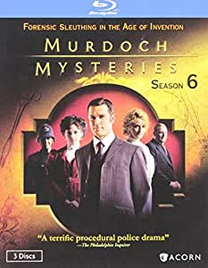 Murdoch Mysteries: Season 6 [Blu-ray]