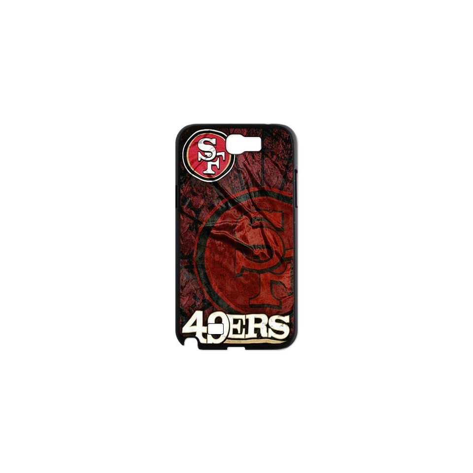 WY Supplier NFL San Francisco 49ers Team Logo Samsung Galaxy Note 2 N7100 case WY Supplier 148133  Sports Fan Cell Phone Accessories  Sports & Outdoors