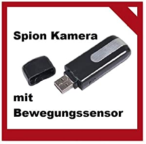 spion kamera spy cam mini dv dvr usb stick u8 spycam mit bewegungssensor tfslot versandt aus. Black Bedroom Furniture Sets. Home Design Ideas