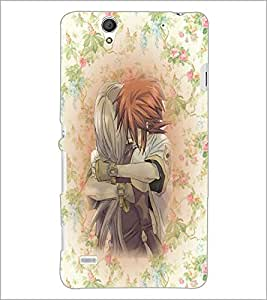 PrintDhaba Couple D-5440 Back Case Cover for SONY XPERIA C4 (Multi-Coloured)