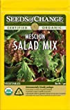 Seeds of Change Certified Organic Salad Mix, Mesclun - 900 milligrams, 500 Seeds Pack
