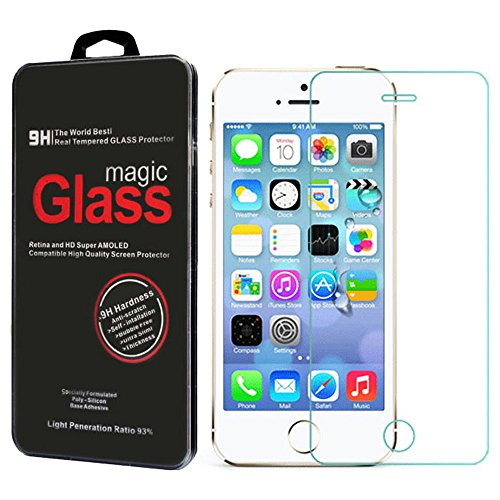 Abc Premium 9H Real Tempered Glass Screen Protector Film For Iphone 5 5C 5S