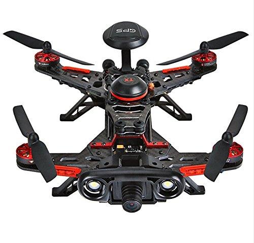 XT-XINTE D'origine Walkera Runner 250 Advance système GPS RC Drone Quadcopter RTF avec DEVO 7 Télécommande / OSD / Caméra / GPS V4