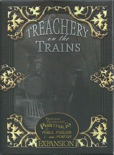 Professor Pugnacious: Treachery On The Trains