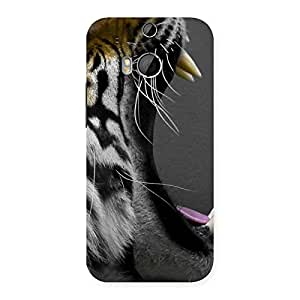 Roar Tiger Multicolor Back Case Cover for HTC One M8