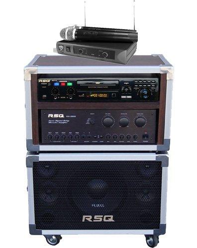 Rsq J Box Portable Karaoke System Wireless Microphone Mp3 G