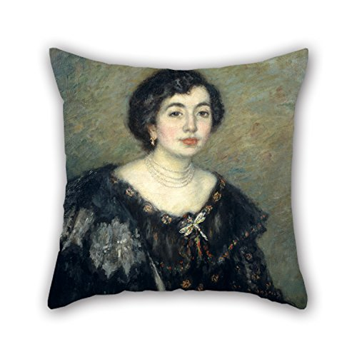 bestseason-pillow-shams-of-oil-painting-ricard-canals-mrs-amouroux-the-artists-sister-in-lawfor-deck