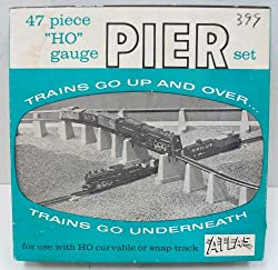 Pier Set 47Pc Set HO Scale Atlas Trains