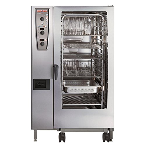 Rational Heavy Duty Combimaster Oven 201 Propane Gas Commercial Kitchen Restaurant Cafe