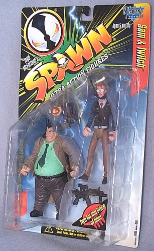 Picture of McFarlane Spawn Series 7 Sam and Twitch Action Figure (B000BTYOMA) (Superman Action Figures)
