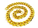 Factorywala Cool Looking Gold Plated plastic Chain/Necklace for Boy/Men