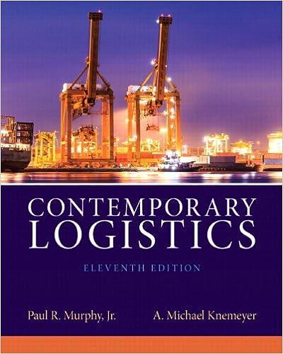 contemporary logistics 10th edition | Free search PDF