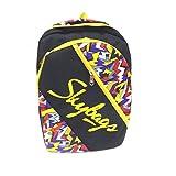 #8: Skybags Unisex Grey & Orange Flux Casual Backpack