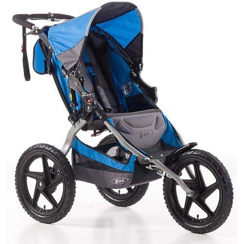 Bob Sport Utility Stroller Blue front-27673