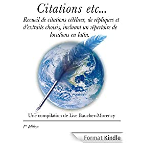 Citations etc...