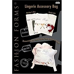 FASHION FORMS LINGERIE ACCESSORY BAG #880 WHITE