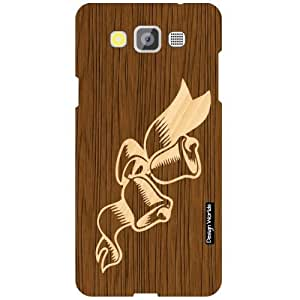 Design Worlds Samsung Galaxy Grand Max SM-G7200 Back Cover - Wood Designer Case and Covers