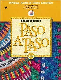 Paso a Paso: Scott Foresman: 9780673217189: Amazon.com: Books