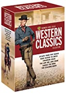 Warner Home Video Western Classics Collection Escape From Fort Bravo Many Rivers To Cross Cimarron 1960 The Law And Jake Wade Saddle The Wind The Stalking Moon by Warner Home Video