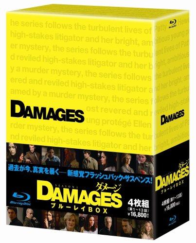 ダメージ シーズン1 ブルーレイ BOX (4枚組)(全13話) [Blu-ray]
